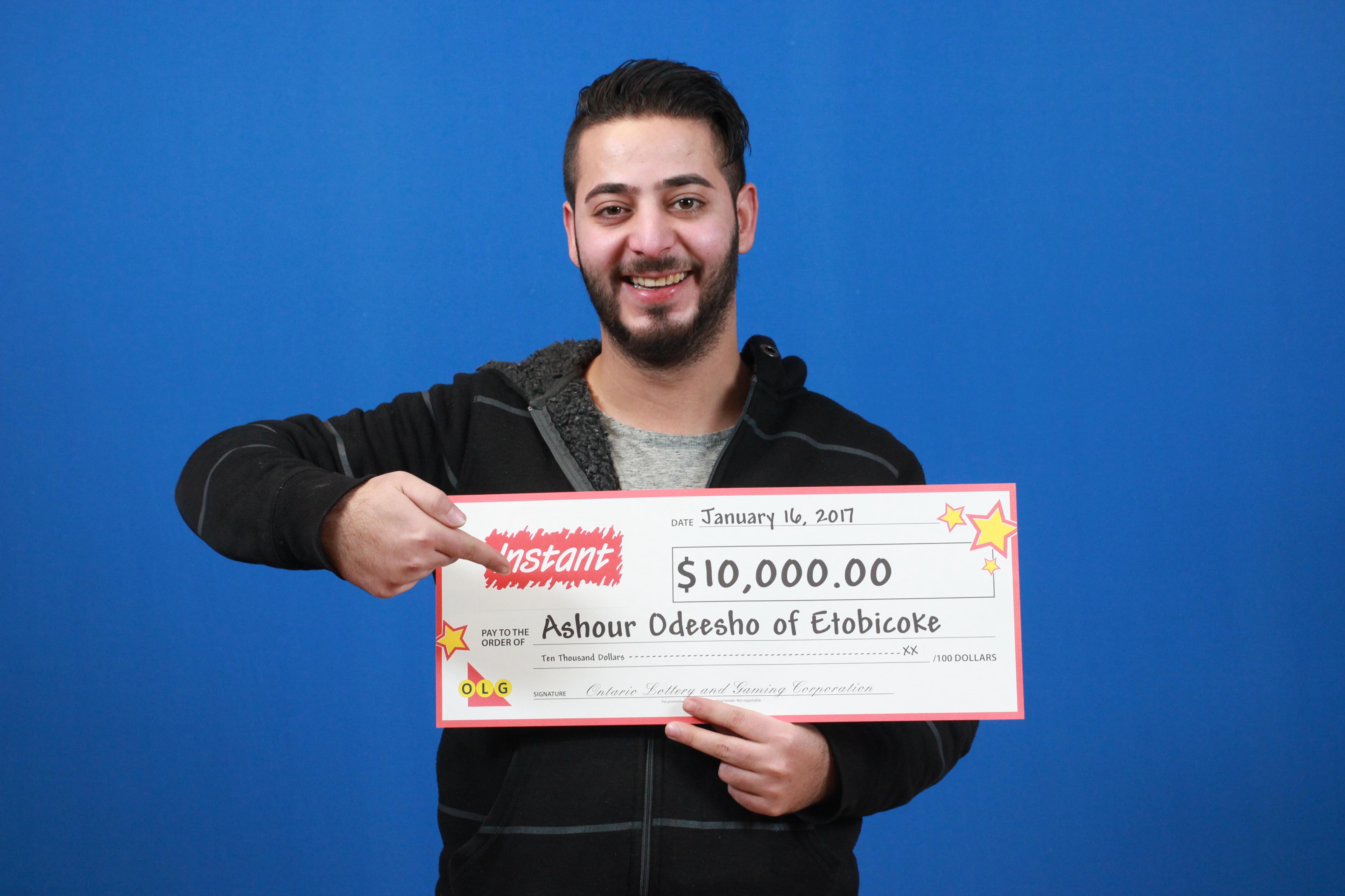 RECENT Instant WINNER - Ashour Odeesho