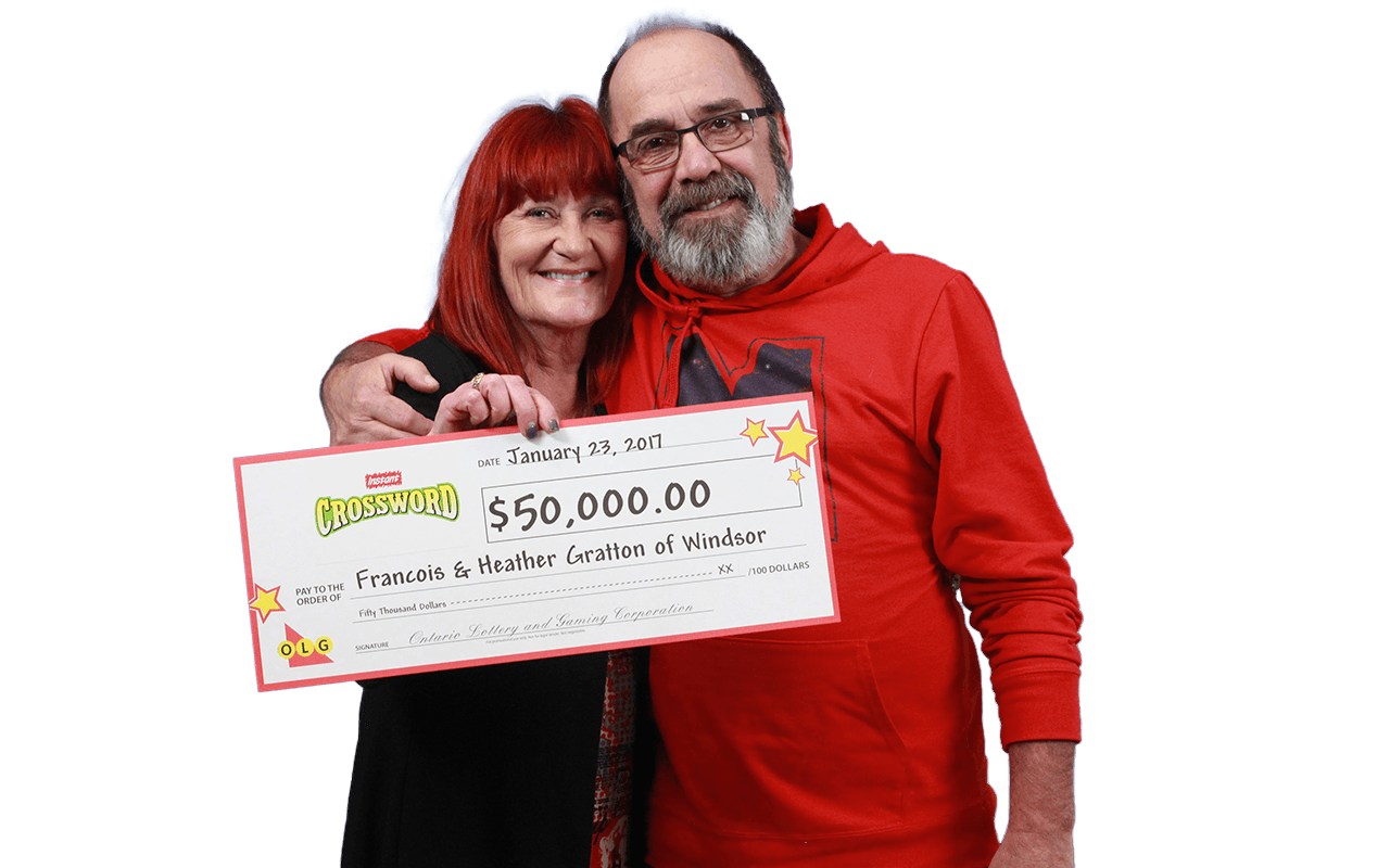 RECENT Instant WINNERS - Heather and Francois Gratton