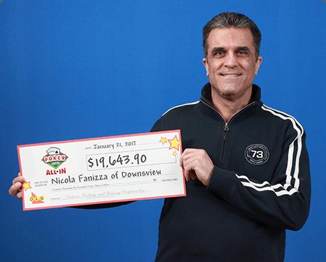 RECENT Poker Lotto WINNER - Nicola