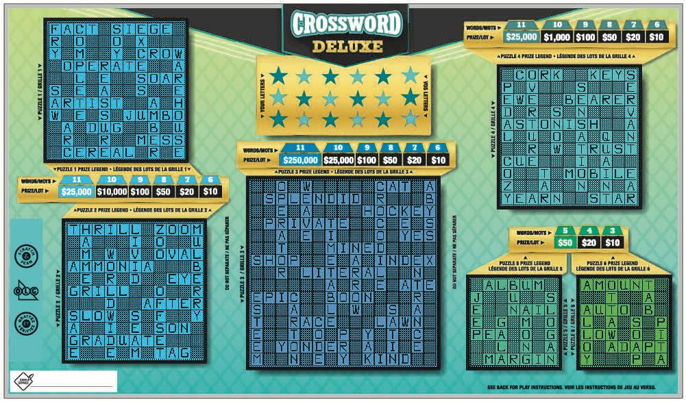 Crossword Deluxe ticket