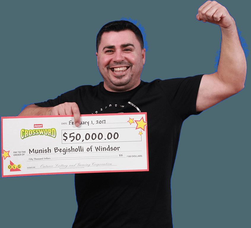 RECENT Instant WINNER - Munish Begisholli