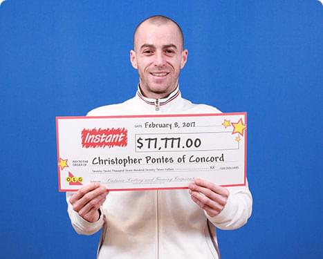 RECENT Instant WINNER - Christopher Pontes