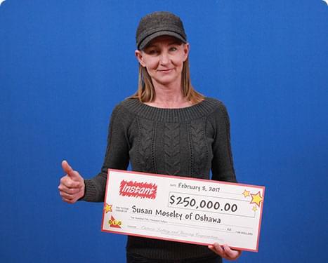 RECENT Instant WINNER - Susan Moseley
