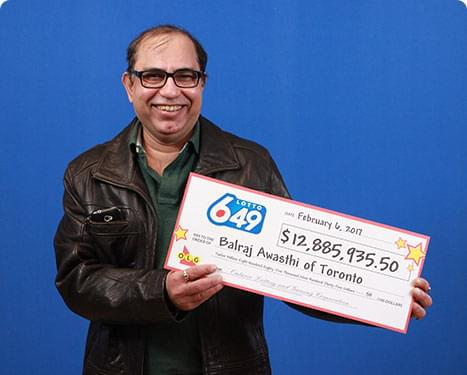 Lotto 649 winner