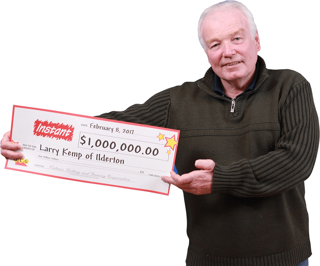 RECENT Instant WINNER - Larry Kemp