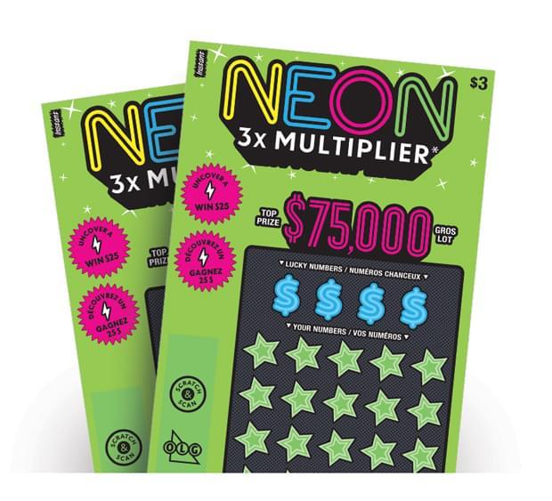 Neon 3x Multiplier tickets
