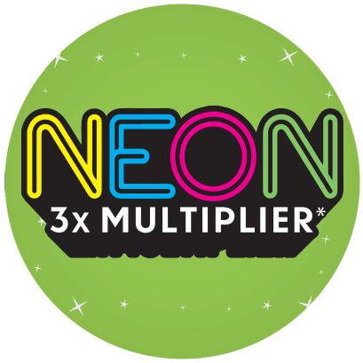Neon 3X Multiplier logo