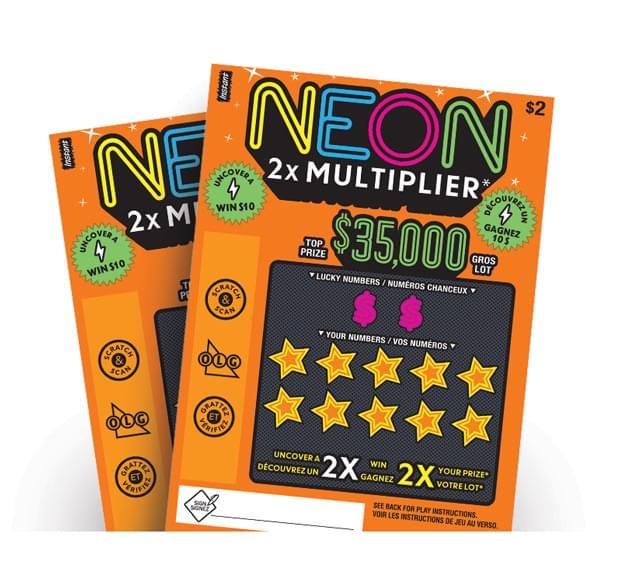 Neon 2X Multiplier tickets
