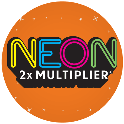 Neon 2X Multiplier logo