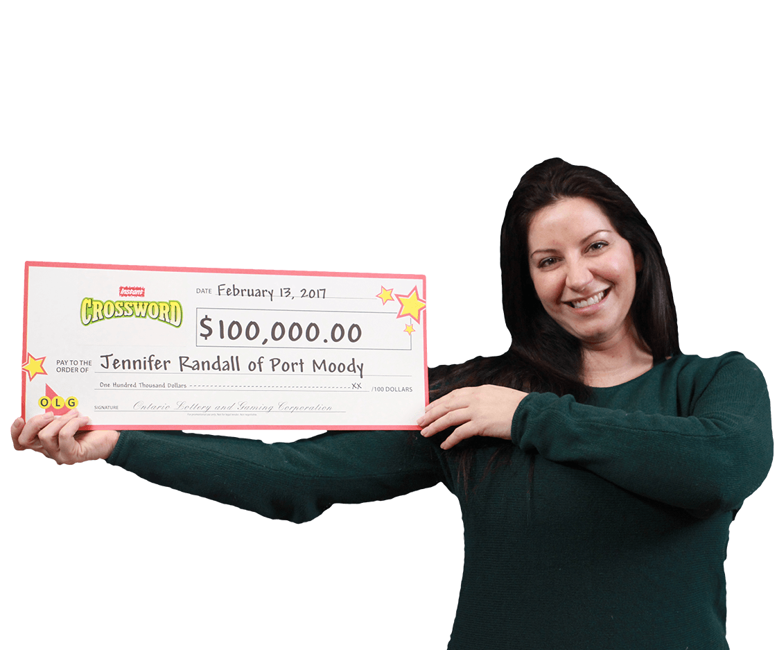 RECENT Instant WINNER - Jennifer Randall