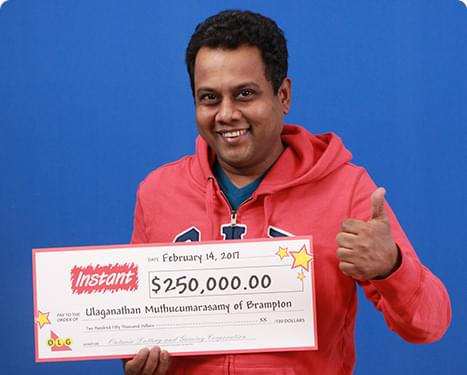 RECENT Instant WINNER - Ulaganathan Muthucumarasamy