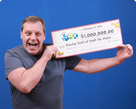 RECENT Lotto Max WINNER - Barclay Scott