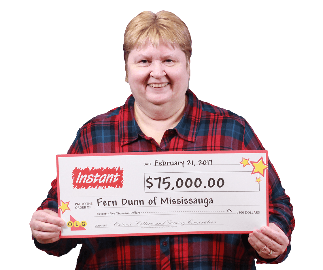 RECENT Instant WINNER - Fern Dunn