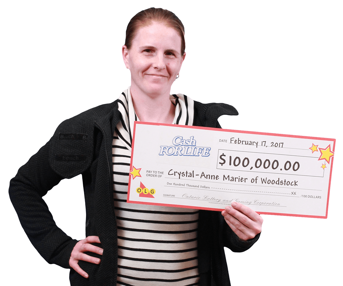 RECENT Instant WINNER - Crystal-Anne Marier