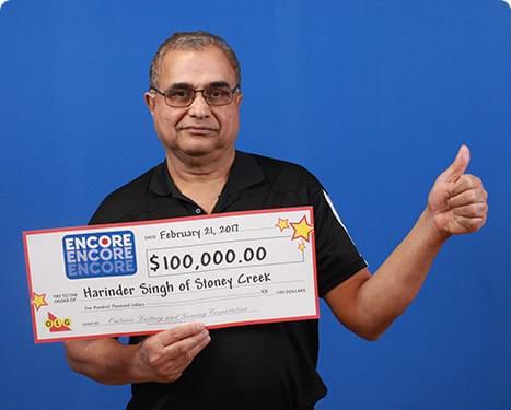 RECENT Encore WINNER - Harinder Singh