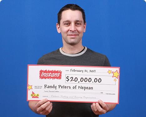 RECENT Instant WINNER - Randy