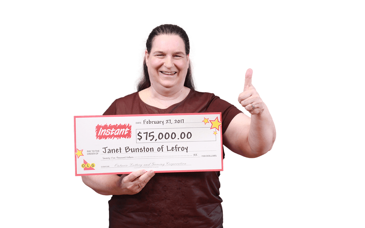 RECENT Instant WINNER - Janet Bunston