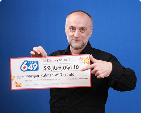 RECENT Lotto 6/49 WINNER - Marijan Kalman