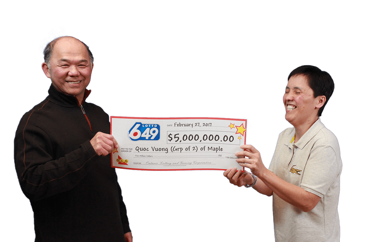 RECENT Lotto 6/49 WINNERS - Quoc Vuong & Chien-Phan Lieu