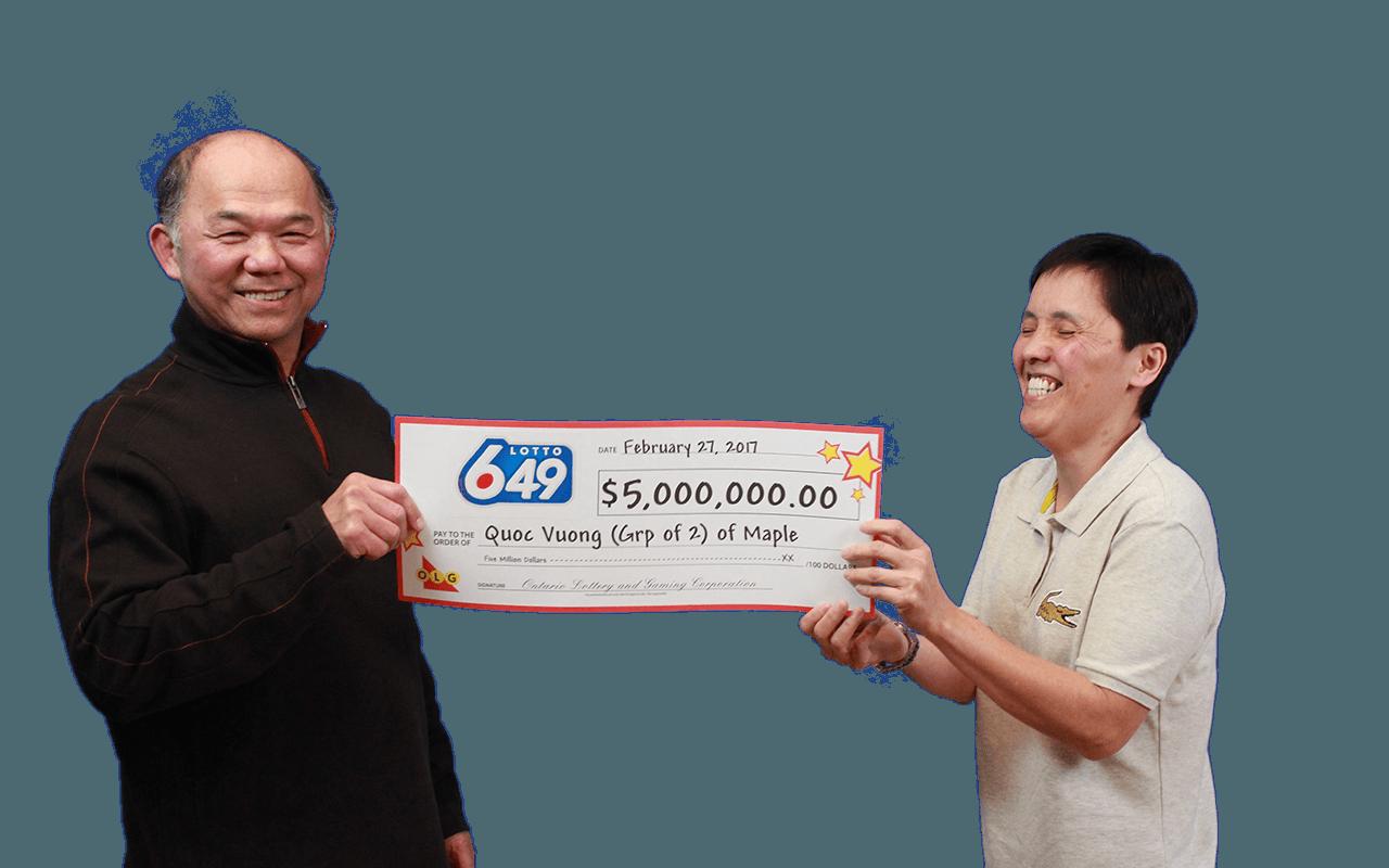 GAGNANTS RÉCENTS À Lotto 6/49 - Quoc Vuong & Chien-Phan Lieu