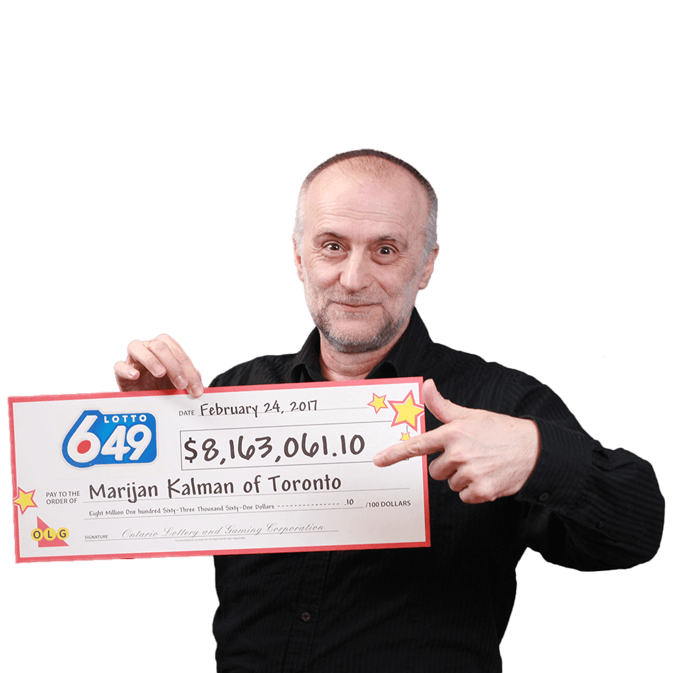 GAGNANT RÉCENT À Lotto 6/49 - Marijan Kalman