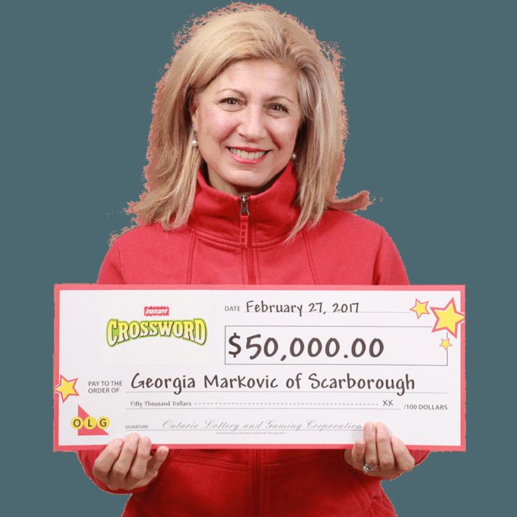 RECENT Instant WINNER - Georgia Markovic
