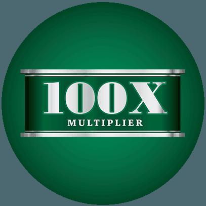 100X Multiplier logo