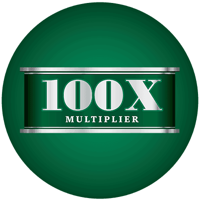 100X Multiplier logo