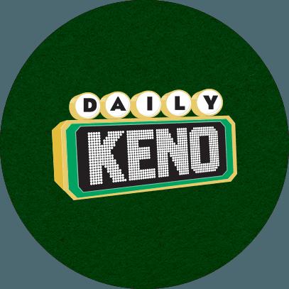 DAILY KENO LOGO CIRCLE