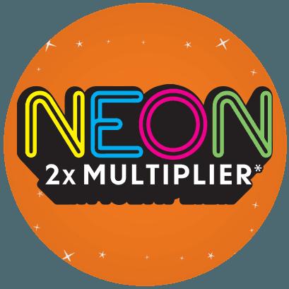 Neon 2X Multiplier logo