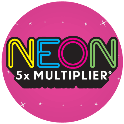 NEON 5X MULTIPLIER logo