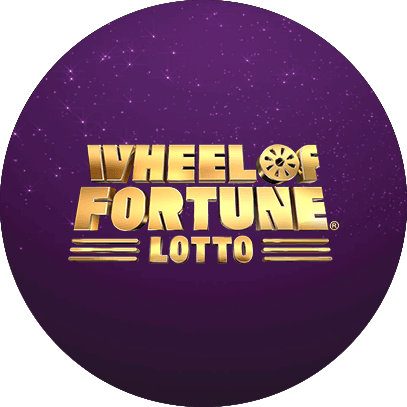 WHEEL OF FORTUNE® LOTTO LOGO CIRCLE