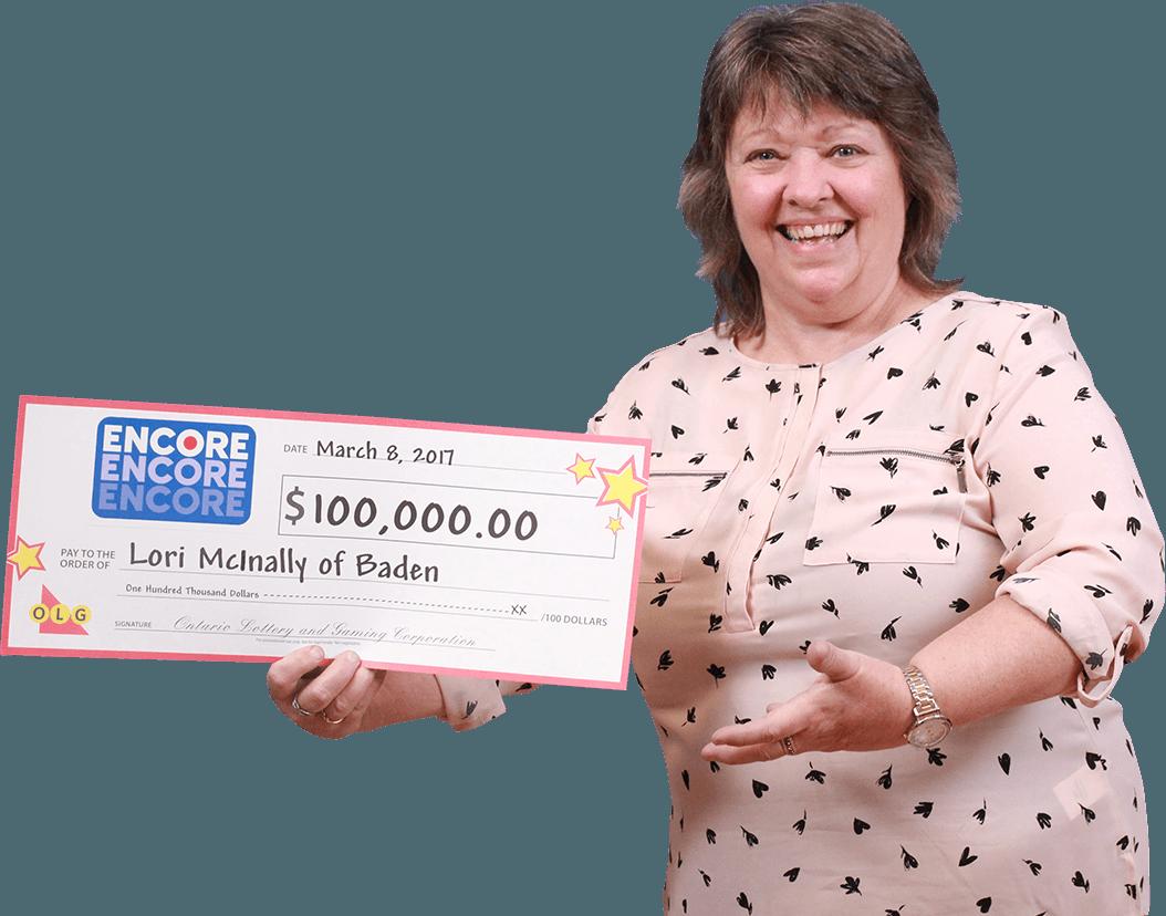 RECENT Encore WINNER - Lori McInally