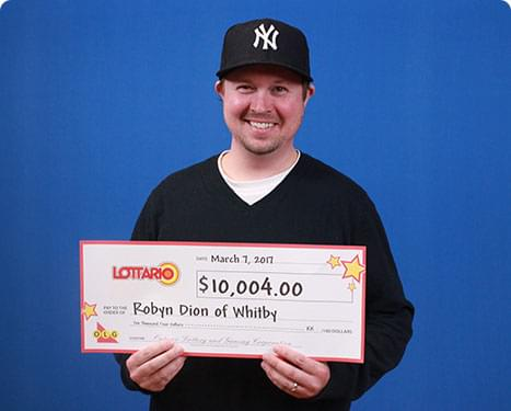 RECENT Lottario WINNER - Robyn Dion