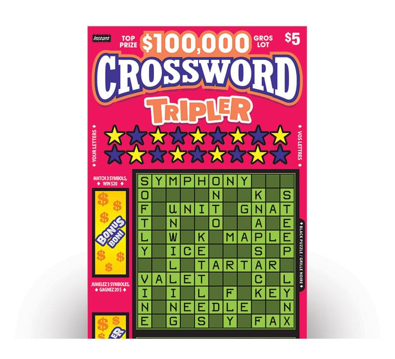 Billet de CROSSWORD TRIPLER No.2022
