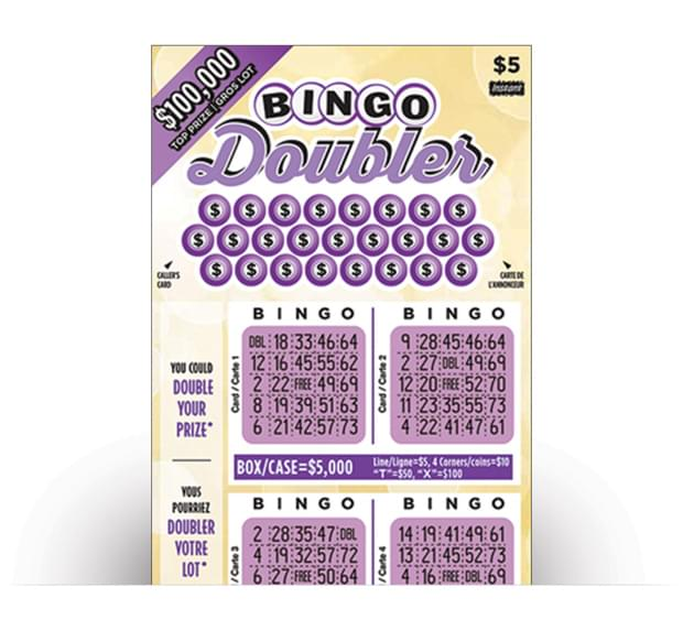 BINGO DOUBLER No.1851 ticket