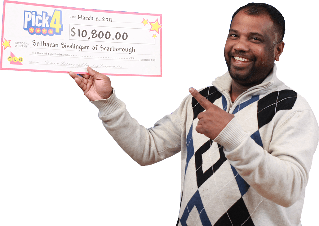 RECENT Pick-4 WINNER - Sritharan Sivalingam
