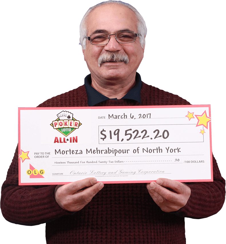 RECENT Poker Lotto WINNER - Morteza Mehrabipour