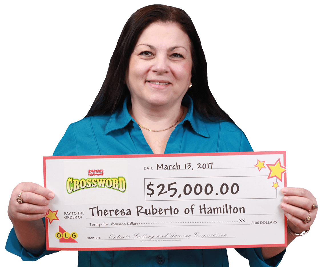 RECENT Instant WINNER - Theresa Ruberto