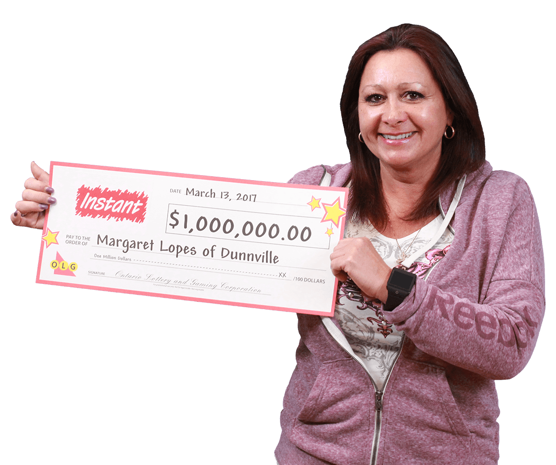 RECENT Instant WINNER - Margaret Lopes