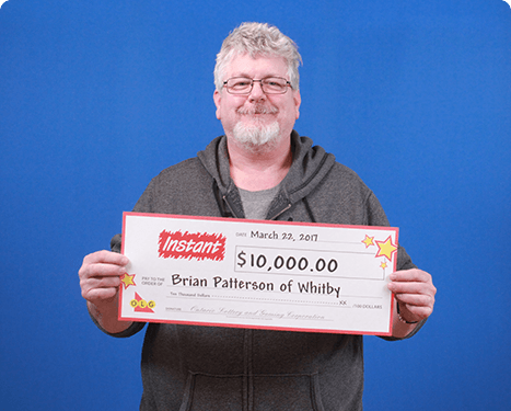 RECENT Instant WINNER - Brian Patterson