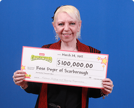 RECENT Instant WINNER - Rose Dwyer