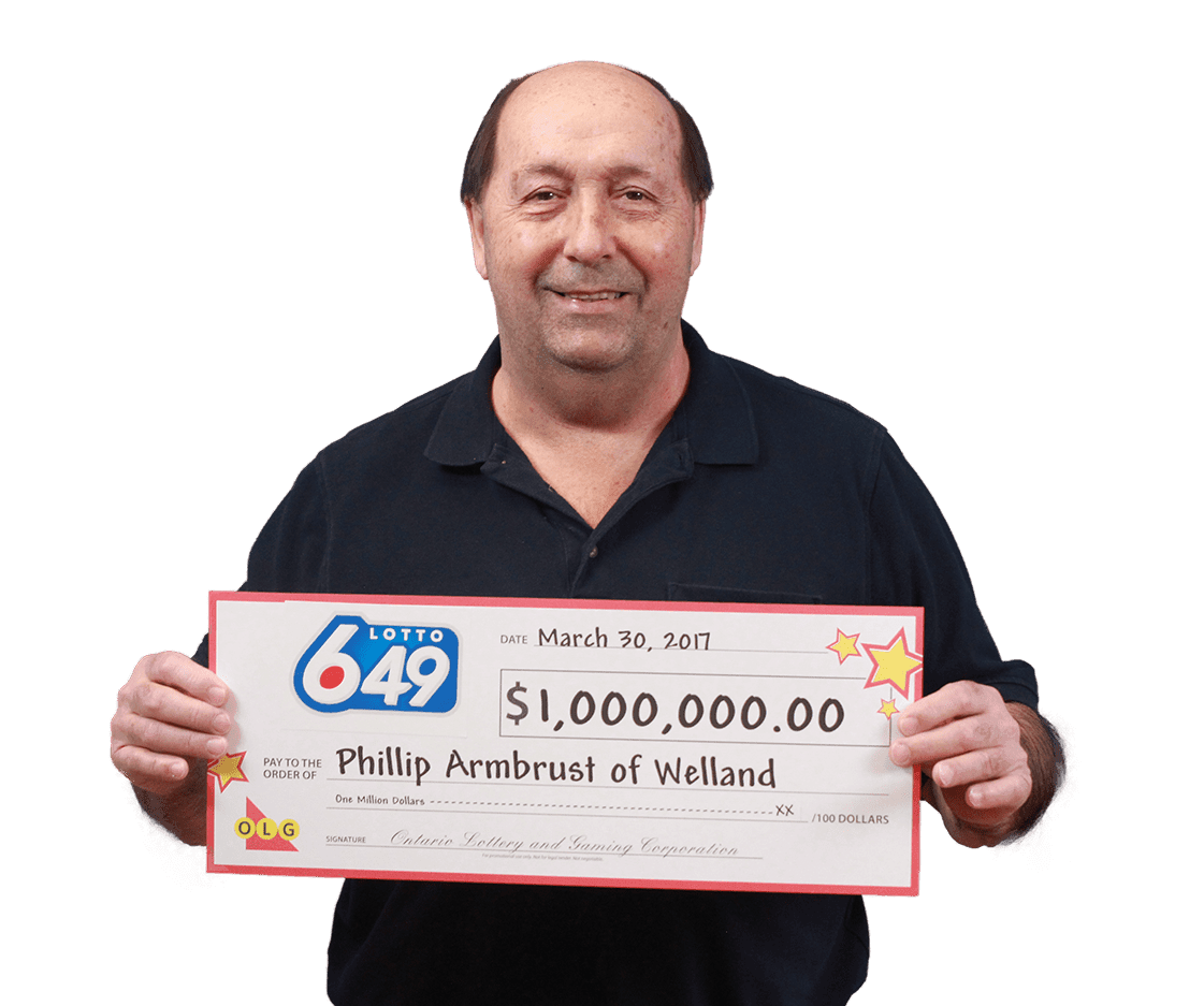 RECENT Lotto 6/49 WINNER - Phillip Armbrust