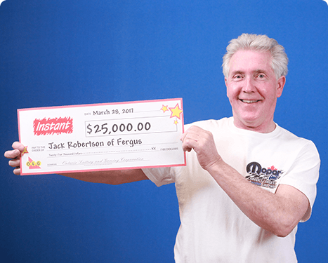 RECENT Instant WINNER - Jack Robertson