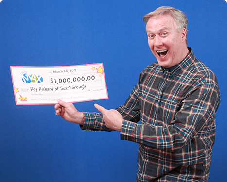 RECENT Lotto Max WINNER - Roy Richard