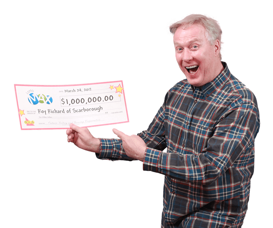 RECENT Lotto Max WINNER - Roy
