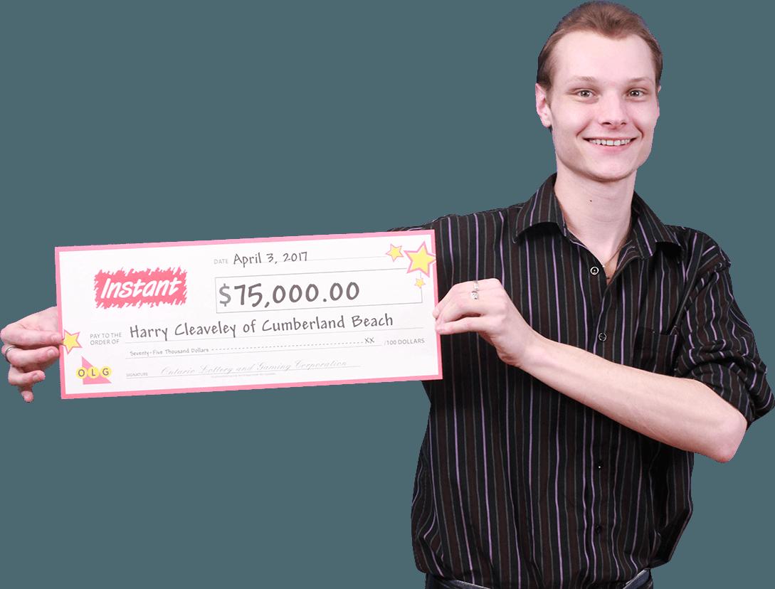 RECENT Instant WINNER - Harry Cleaveley