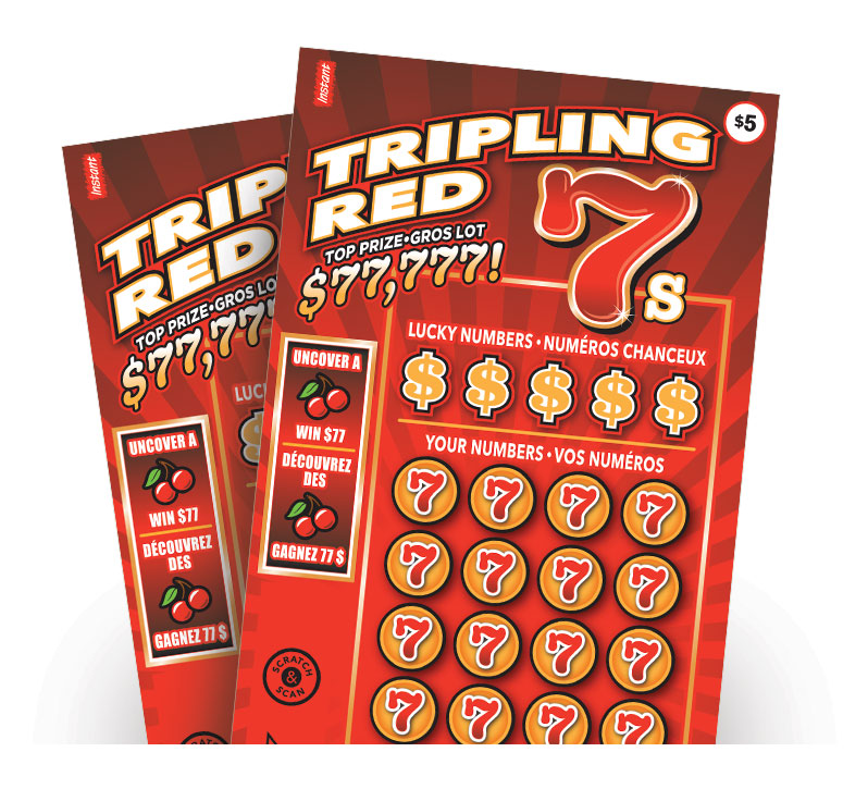 Tripling Red 7s tickets