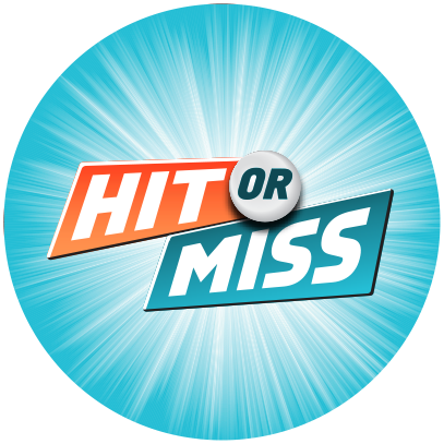 HIT OR MISS LOGO CIRCLE