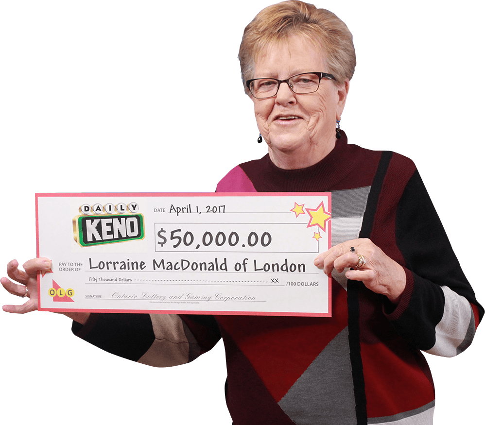 RECENT Daily Keno WINNER - Lorraine MacDonald